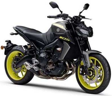 Modellbeispiel Yamaha MT-09